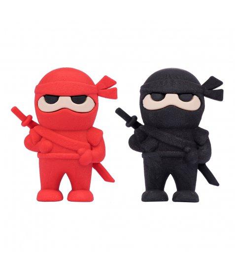 "Ластик фігурний YES ""Ninja"", 2 кол./уп."