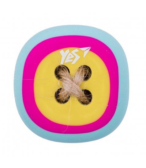"Ластик фігурний YES ""Button"", 2 кол./уп."
