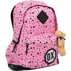 """Рюкзак підлітковий Х094 """"Oxford"""" рожевий, 41*27.5*17см"""