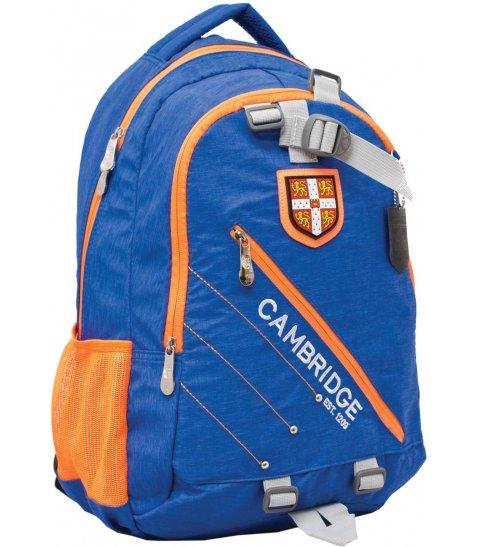 """Рюкзак для підлітків YES  CA058 """"Cambridge"""", блакитний, 29*13.5*46см"""