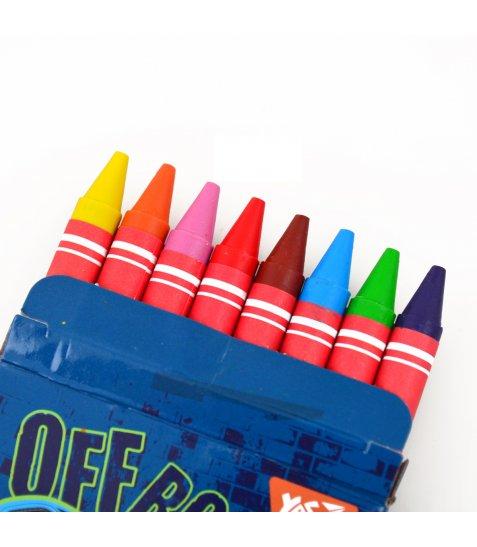 """Набір воскових олівців YES 8 шт. """"M-Trucks"""", 7*90мм, YES"""