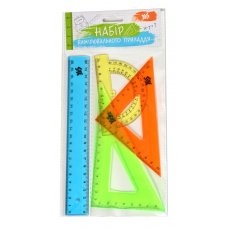 Set of measuring stationery items YES, 4 units