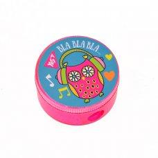 """Точилка кругла """"Disco owls"""""""