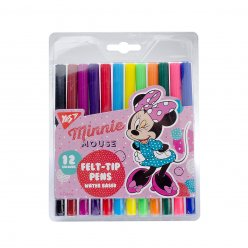 "Фломастери  YES 12 кольорів ""Minnie Mouse"""