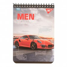 """Notebook А6/80 single spiral """"MEN LIFESTYLE """" YES"""