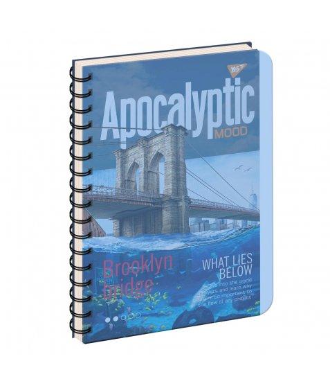 зошит для записів А4/144 пл.обкл. APOCALYPTIC YES