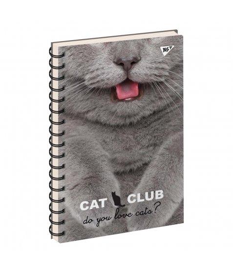 зошит для записів А4/144 пл.обкл. PETS  CLUB YES