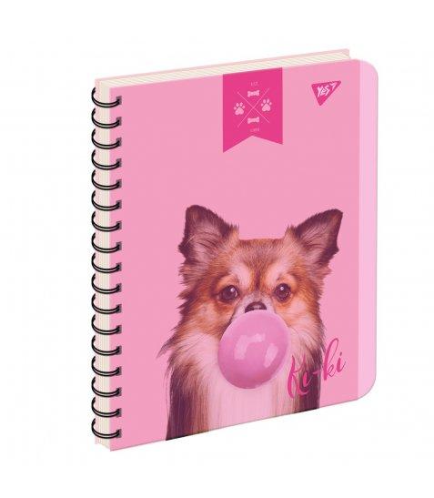 Зошит А5 144 Кл. YES Пл.Обкл. Elegant Dog