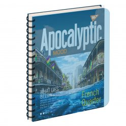 зошит для записів А5/144 пл.обкл. APOCALYPTIC YES