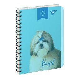 зошит для записів В6/144 пл.обкл. ELEGANT DOG YES