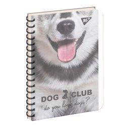 зошит для записів В6/144 пл.обкл. PETS  CLUB YES