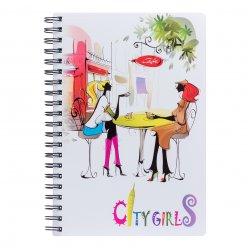 Зошит для записів А4/120 пл.обкл. City girls YES
