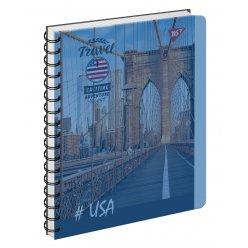 Зошит для записів А5/144 пл.обкл. Travel YES