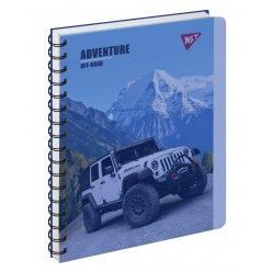 Зошит для записів А5/144 пл.обкл. Jeep YES