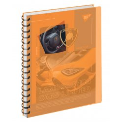 Зошит для записів А5/144 пл.обкл. Limited cars YES