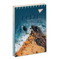 "Зошит для записів А6/80 од.спіраль ""Ocean"" YES"