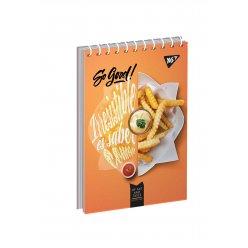 """Зошит для записів А7/80 од.спіраль """"Super burger"""" YES"""