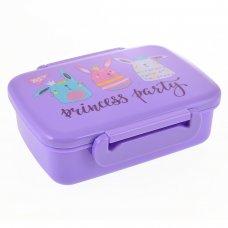 """Контейнер для їжі """"Princess Party"""" 420 мл, з роздільником"""