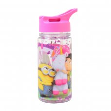 """Пляшка для води YES з блискітками """"Minion Fluffy"""", 280 мл"""