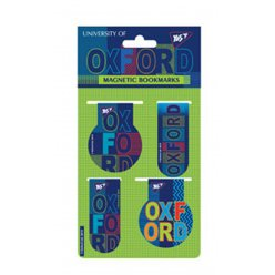 """Закладки магнітні YES """"Oxford"""", 4шт"""