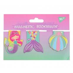 "Закладки магнітні YES ""Mermaid"", фольга, 3шт"