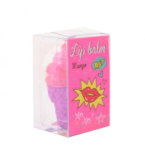 """Бальзам для губ YES """"Pink ice cream"""""""