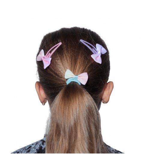 Набір для волосся: 1 резинка та 2 заколки