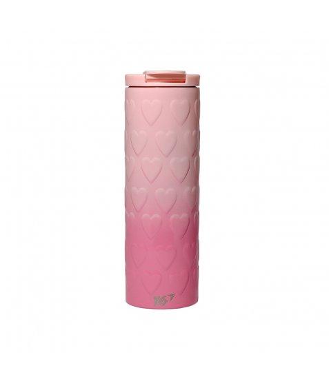 "Термочашка YES ""Pink Heart"", 420мл"