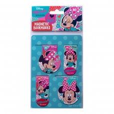"Закладки магнітні YES ""Minnie Mouse"", 4 шт"