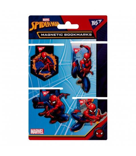 """Закладки магнітні YES """"Marvel"""", висікання, 4шт - фото 1 з 1"""