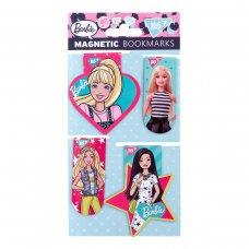 """Закладки магнітні YES """"Barbie"""", висікання, 4шт"""