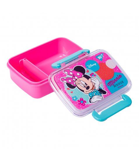 """Контейнер для їжі YES """"Minnie Mouse"""", 420мл, з роздільником"""