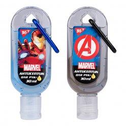 """Гель антисептичний YES для рук з карабіном """"Marvel.Avengers"""", 30 мл."""