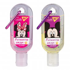 "Гель антисептичний YES для рук з карабіном ""Mickey&Minnie"", 30 мл."
