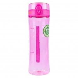 Пляшка для води YES 680мл рожева