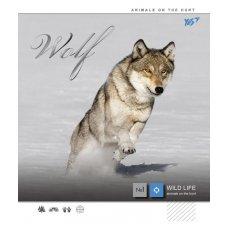 А5 / 12 кос. YES фольга срібло + УФ-виб Wild force, зошит