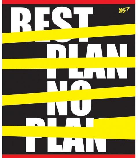 А5 / 96 кл. YES гібрид виб. + Пантон yellow Urban phrase, зошит