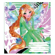 А5/12 square YES WINX FASHION    , copybook