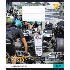 А5/12  line YES PITSTOP  , copybook
