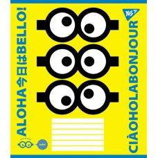 А5/24 square YES MINIONS            , copybook
