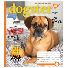 А5/60 square YES DOGSTER, copybook