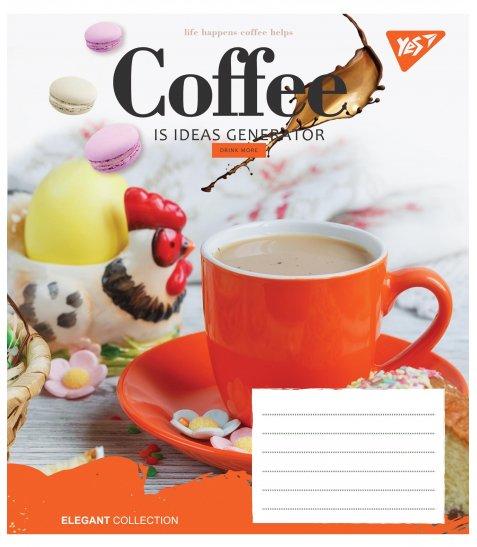 А5/60 лін. YES COFFEE, зошит для записів