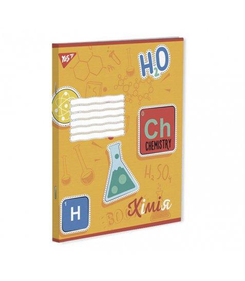 Зошит А5 48 Кл. YES Хімія (Rainbow)