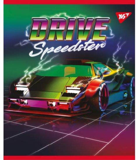 Зошит А5 48 Лін. YES Speedster