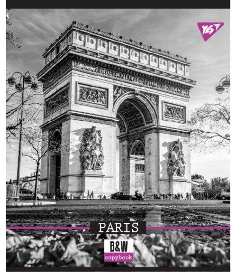 Зошит А5 96 Лін. YES B&W City - фото 2 з 5