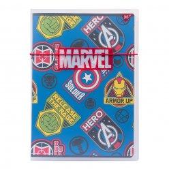 Зошит А4 48 Кл. В Пластиковій Папці З Малюнком Marvel Hero