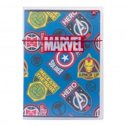 "Зошит А4/48 кл. в пластиковій папці з малюнком ""MARVEL HERO"" YES"