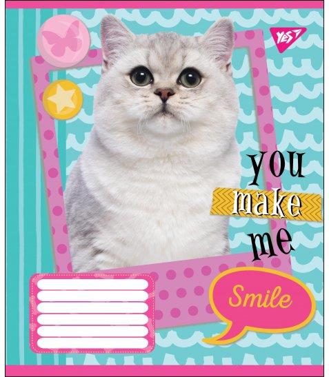 А5/18 лін. YES YOU MAKE ME SMILE, зошит учнів.