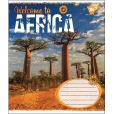 А5/24 кл. YES AFRICA, зошит учнів.