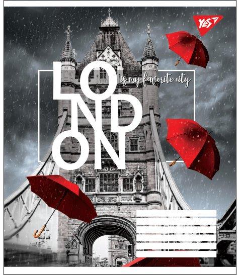 А5/24 кл. YES LONDON, зошит учнів.